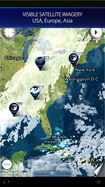 Radar HD - Future NOAA Doppler Weather Radar screenshot-4