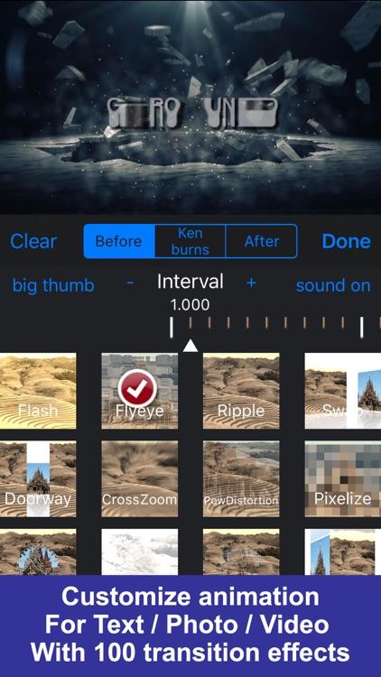 IntroMovies - Intro maker designer for iMovie screenshot-3