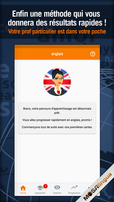 Business English - MosaLingua Screenshots