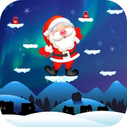 Christmas Game - Funny Santa Jumping / Flying Free