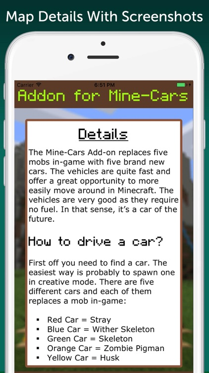 MineCars AddOn for Minecraft PE screenshot-1