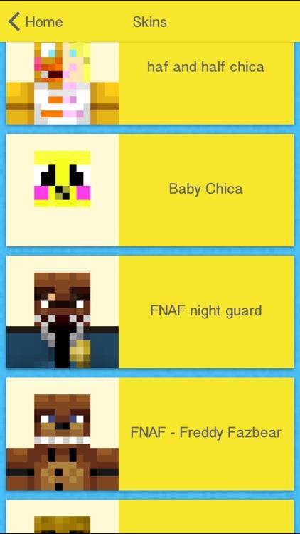 Pro FNAF Skins Creator For Minecraft PE+PC screenshot-4