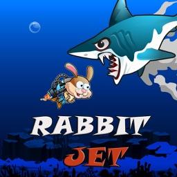 Rabbit Jet Adventure Under Water Game
