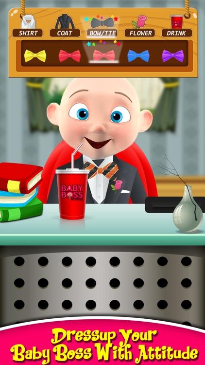 The Baby Boss Care, Dress up & Feed - Babysitting screenshot-4