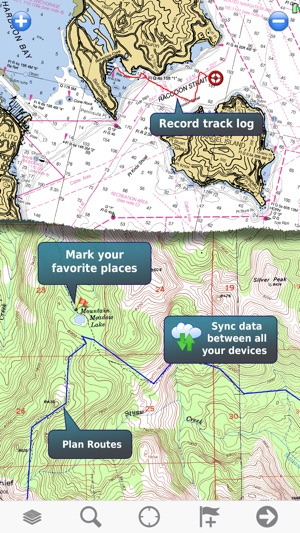Memory map topo maps and marine navigation on the app store gumiabroncs Images