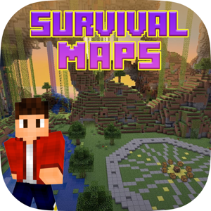Maps for Minecraft - Survival forgt Pocket Edition app