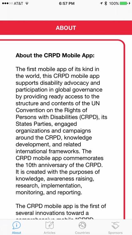 CRPD screenshot-0