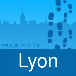 Lyon on foot : Offline Map