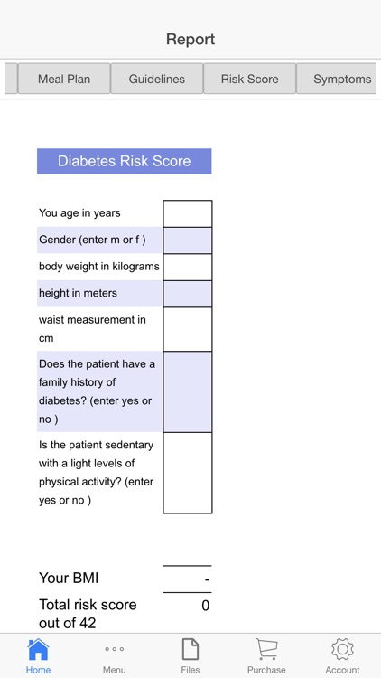Diabetic Plus screenshot-1