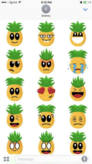 Friendly Fruits Sticker Pack screenshot three