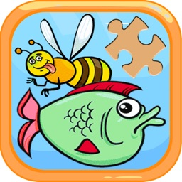 Cartoon Puzzle for Kids Jigsaw Puzzles Game free