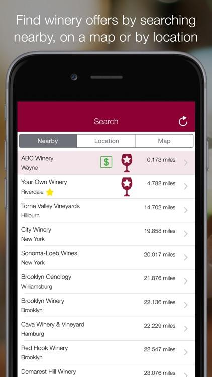 Winery Passport - Wine Guide screenshot-3