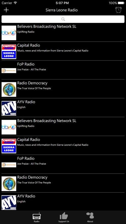 Sierra Leone Radio