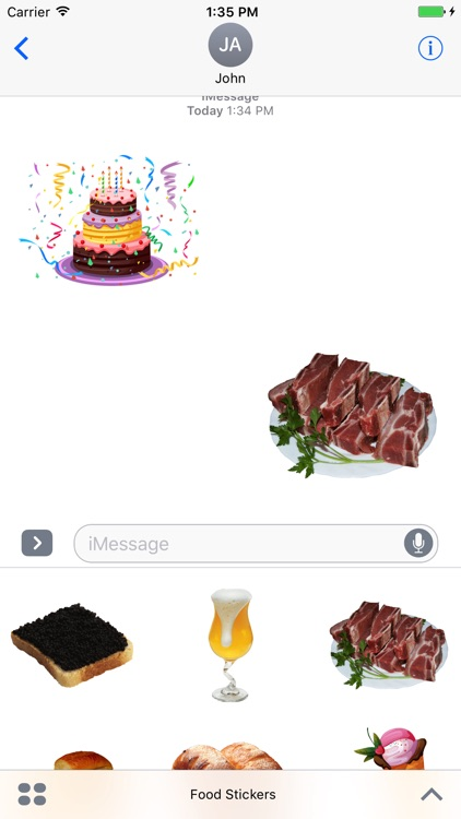 Best Food Stickers Pack