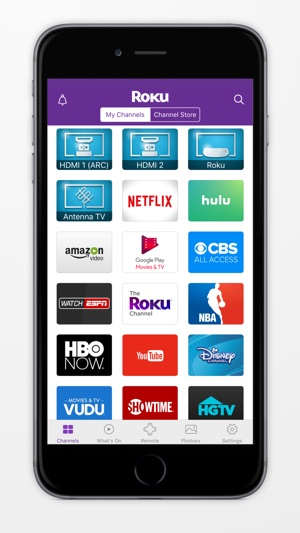 stream iphone to roku roku on the app 2961