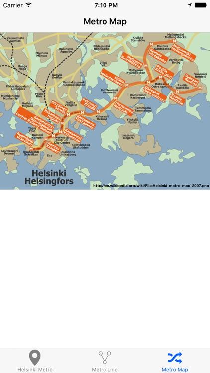 Helsinki Metro & Subway screenshot-4