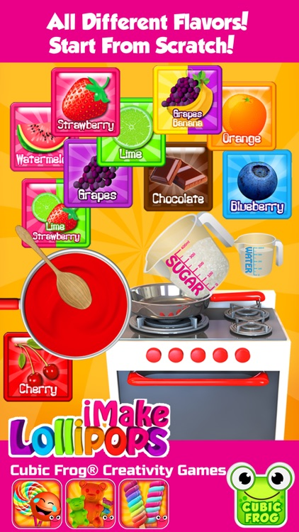 iMake Lollipops-Candy Making Kitchen Games screenshot-1