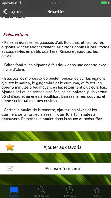 Saveurs du Maroc screenshot four