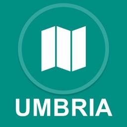 Umbria, Italy : Offline GPS Navigation