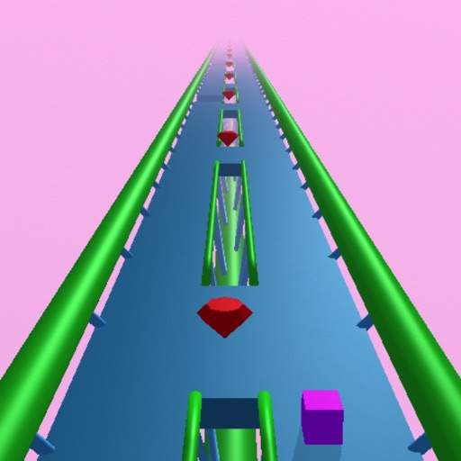 Two Paths - A Twitch Endless Runner Roller Coaster