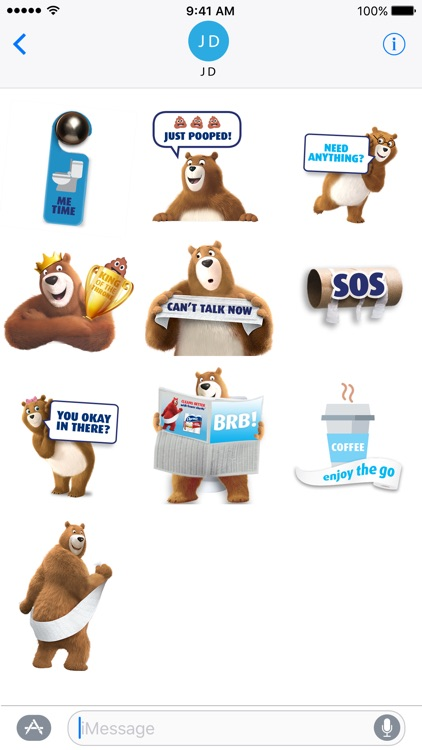 Charmin Pooptastic Stickers screenshot-4