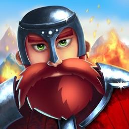 Battle of Thrones - Match 3 Multiplayer War Game
