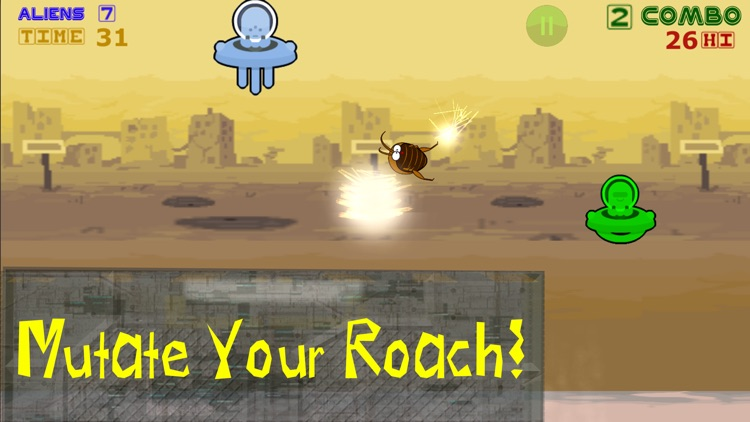 Aliens End Roach: Defeat the Raid with Atomic Bug! screenshot-4