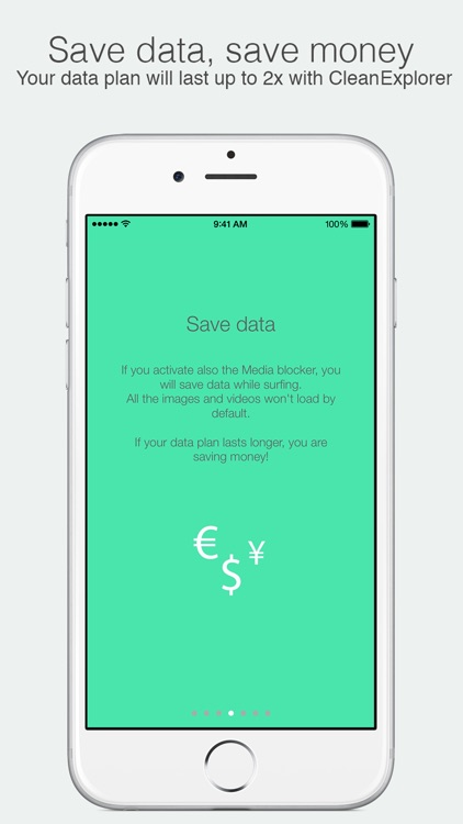 Clean Explorer - Block ads, Surf faster, Save Data