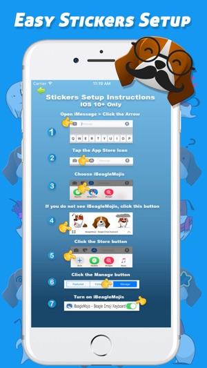 Ibeaglemojis Beagle Emoji Keyboard On The App Store