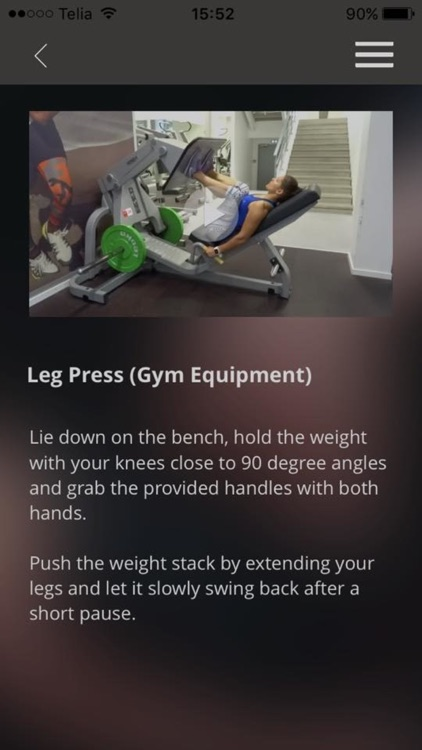 Gym Exercises Training Butt Leg Fitness Workout screenshot-3