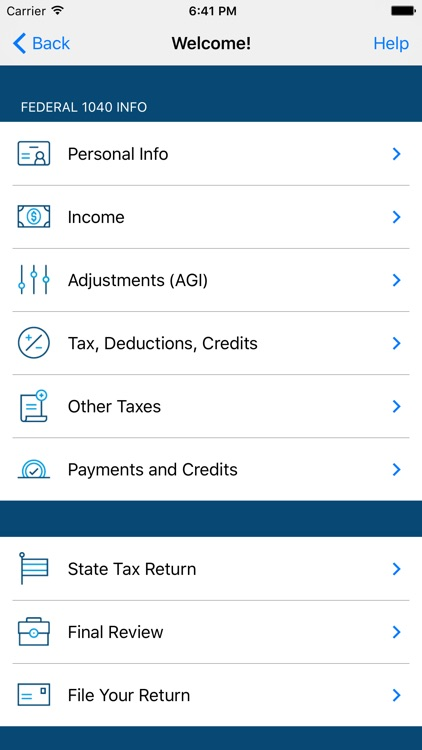TaxCatalyst Income Tax Return Prep & File 2016 App