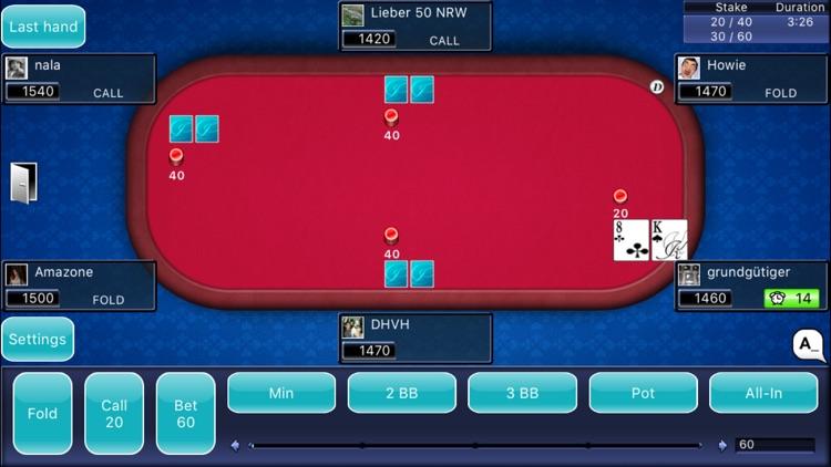 LiveHoldem - NL Texas Hold'em Poker online