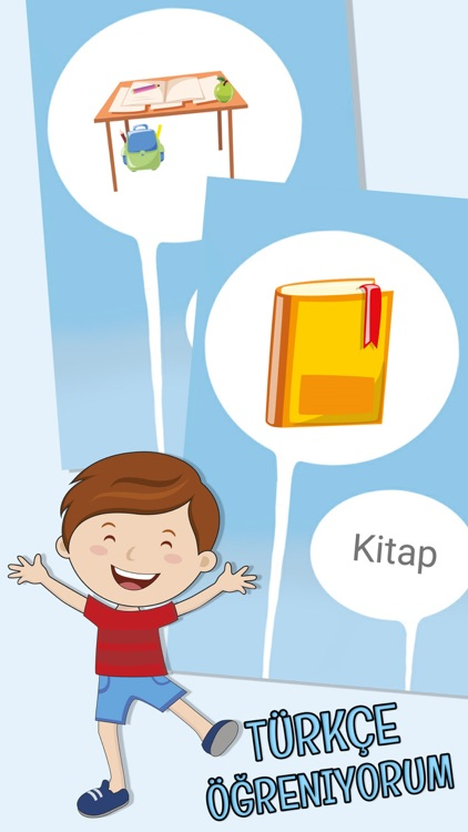 My first words - Learn Turkish for kids