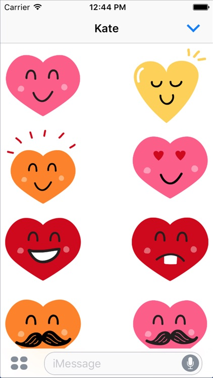 Valentine Smiles Sticker Pack screenshot-0