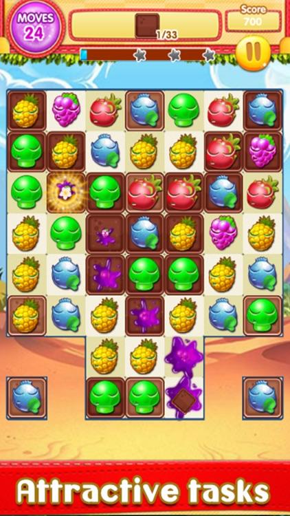 Fruit Splash Match screenshot-4