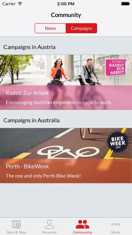 Bike Citizens - cycling navi GPS app image