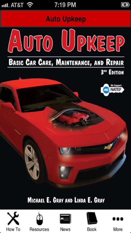 Auto Upkeep: Basic Car Care, Maintenance & Repair