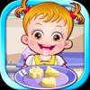 可爱榛果宝贝是小小大厨师