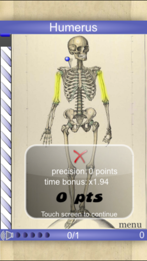 Speed Bones Lite (Quiz) on the App Store