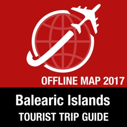 Balearic Islands Tourist Guide + Offline Map