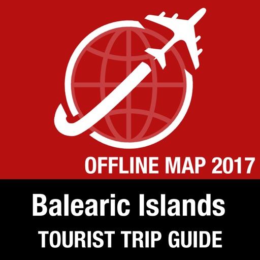 Balearic Islands Tourist Guide + Offline Map