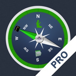 Qibla Compass & Prayer Times PRO