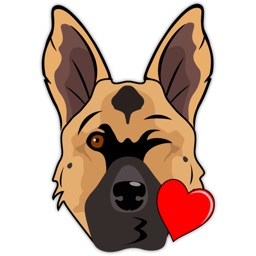 German Shep Emoji - GSD Emojis & Stickers