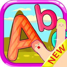 abc tracing letters handwriting for preschool game
