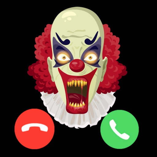 Video Call from Killer Clown - Creepy Video Call icon