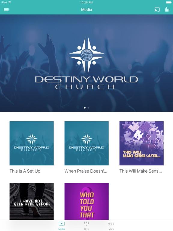 Destiny World Church screenshot 4