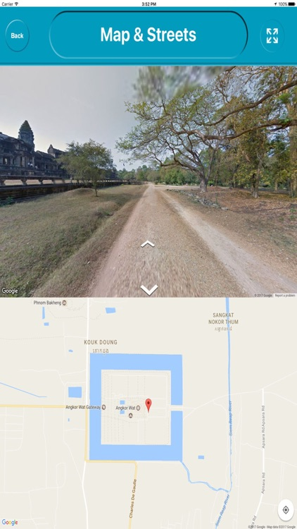 Angkor Wat Cambodia  Offline Map Navigation TOUR screenshot-3