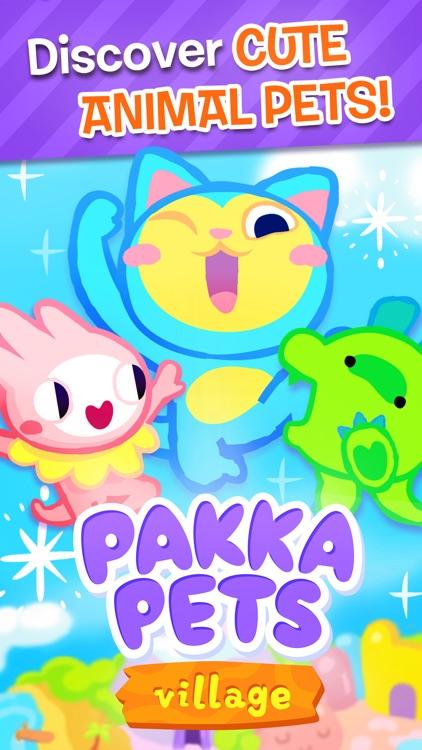 Pakka Pets Village - Build a Cute Virtual Pet Town screenshot-0