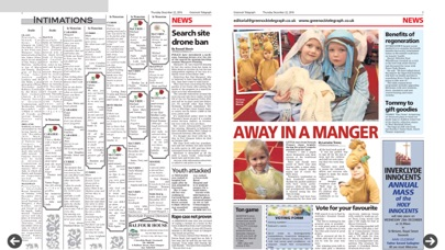 Greenock Telegraph screenshot three