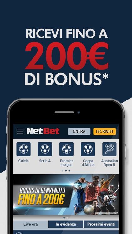 NetBet Scommesse: Scommesse Sportive Online Italia